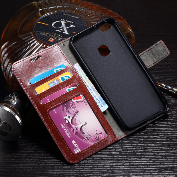 Leather Cases For Fundas Huawei P10 Lite Case High Quality Flip Wallet Cover For Coque Huawei P10 Lite P10Lite Case Cover