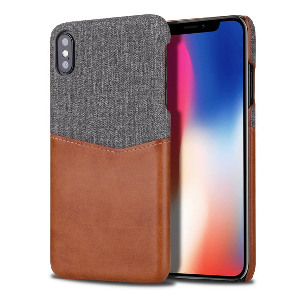 Leather Cloth Phone Case For Iphone 7 8 Plus For Iphone XS Max XR Case Wallet Card Holder Cover For Iphone X 10 6 6s Plus Coque