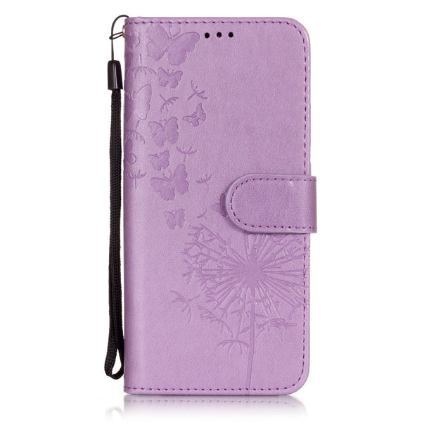 Leather Flip Phone Case For Huawei P20 Lite Wallet Flip Cover For Huawei P20 Pro Strap Bags Shell