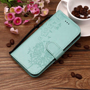 Leather Phone Case For Huawei P20 Lite Wallet Flip Cover For Huawei P20 Pro Embossed Flower Lace Flip Case With Strap