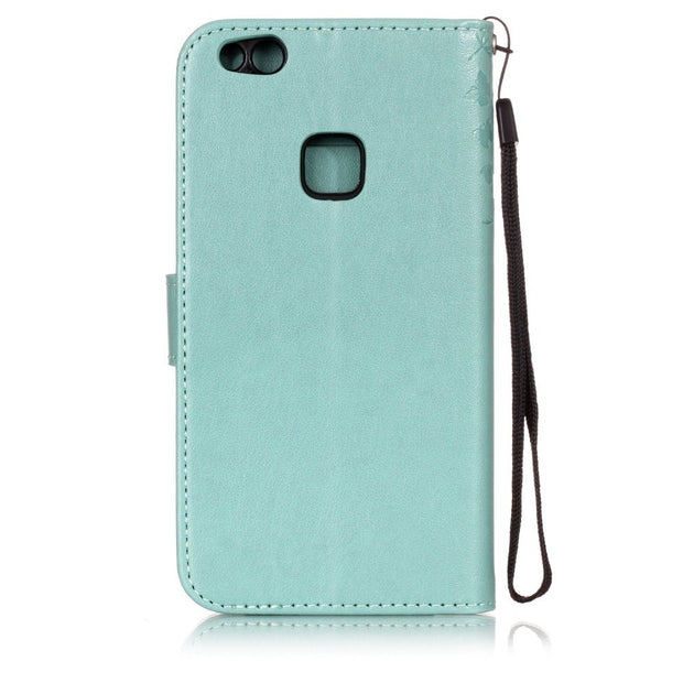 Leather Phone Case For Huawei P8 P9 Lite 2017 P9 Lite Mini P10 Lite Wallet Flip Cover For Huawei P10Lite Phone Shell