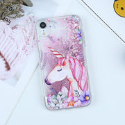 Liquid Quicksand Glitter Case For IPhone XS Max XR XS Case Bling Stars Dynamic TPU Back Covers For IPhone 5S SE 6 6S 7 8 Plus X