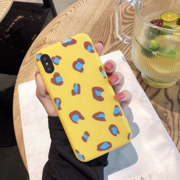 Lovebay Soft TPU Leopard Relief Phone Cases For Iphone XS Max XR X 6 6S 7 8 Plus Ultra-thin Silicon Mobile Phone Back Cover Case
