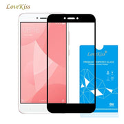 Lovekiss For Redmi 4X Full Cover 9H Ultra-thin Explosion-Proof Tempered Glass For Xiaomi Redmi 4X Screen Protector Film Case