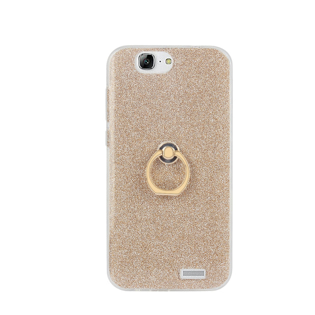 Luxury Case For Huawei Ascend G7 Flash Powder Case For Huawei ...