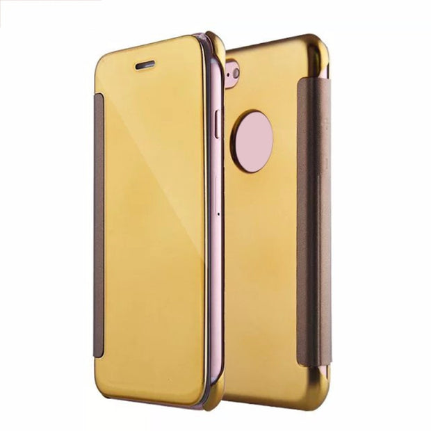 Luxury Electroplated Mirror Metal Frame Phone Case Cover Phone Protective Back Case Cover Suitable For IPhone7