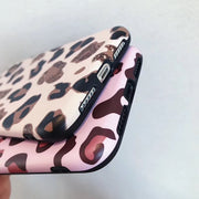 Luxury Leopard Soft Silicon Case For IPhone XS Max XR X Matte Phone Case For IPhone 6s 7Plus 8Plus Back Cover Coque Fundas Capa