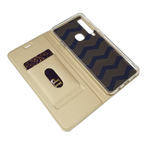 Luxury Magnetic Adsorption Phone Case For Samsung Galaxy A9 2018 Magnet Absorption Flip Cover For Samsung A9 2018 A9s A9200
