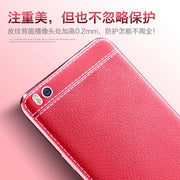 Luxury Plating TPU Soft Leather Cover Case For Xiaomi Mi5 Mi 5 5s Plus Electroplating Frame Fashion Mobile Phone Case Coque Capa