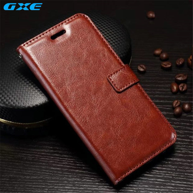 Luxury Retro PU Leather Case For OnePlus 5 Wallet Flip Stand Cover Card Slots Mobile Phone Case For OnePlus 3 3T Coque Fundas