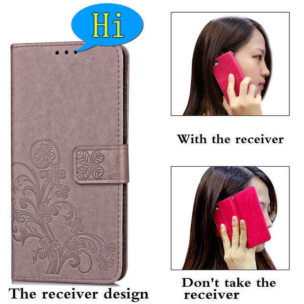 Luxury Retro PU Leather Flip Wallet Case Cover For Huawei Honor 9 Lite Cover On Phone Case For Huawei Honor 10 Cases Covers On