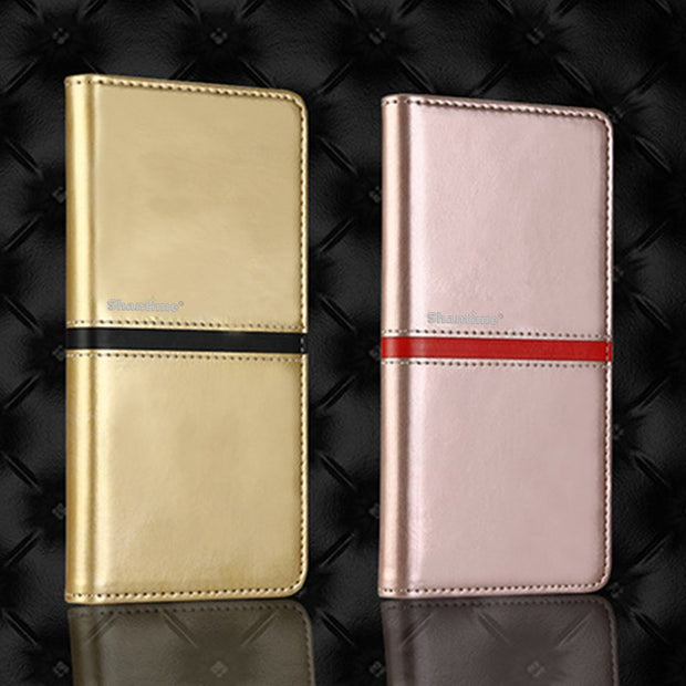 Luxury Vintage Leather Book Case For Xiaomi Mi 6 Plus Case Soft Silicone Back Cover For Xiaomi Mi 6 Plus Business Phone Bag Case
