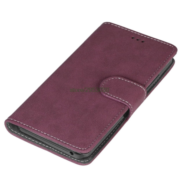 Luxury Wallet PU Leather Cover For Lenovo Vibe C A2020 A2020a40 DS A