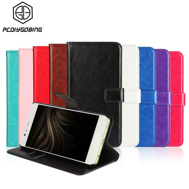Luxury Wallet Stand Phone Cover Retro PU Leather Case For Sony Xperia Z1 Z2 Z3 Mini Z4 Z5 X Compact XZ XA1 T3 T2 Ultra M4 Aqua