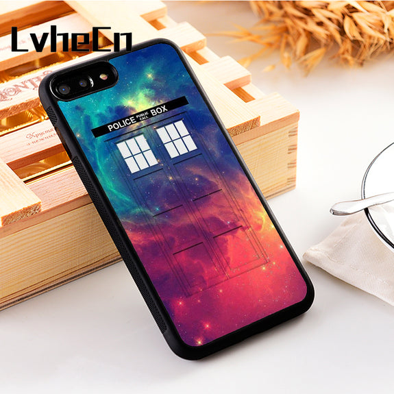 Fitted Cases Phone Bags & Cases Lvhecn Tpu Skin Phone Case Cover For Iphone 5 5s Se 6 6s 7 8 Plus X Xr Xs Max Doctor Who Police Box Tardis