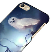 LvheCn 5 5S SE Phone Cover Cases For Iphone 6 6S 7 8 Plus X Back Skin Shell HARRY POTTER HEWDIG MAGIC