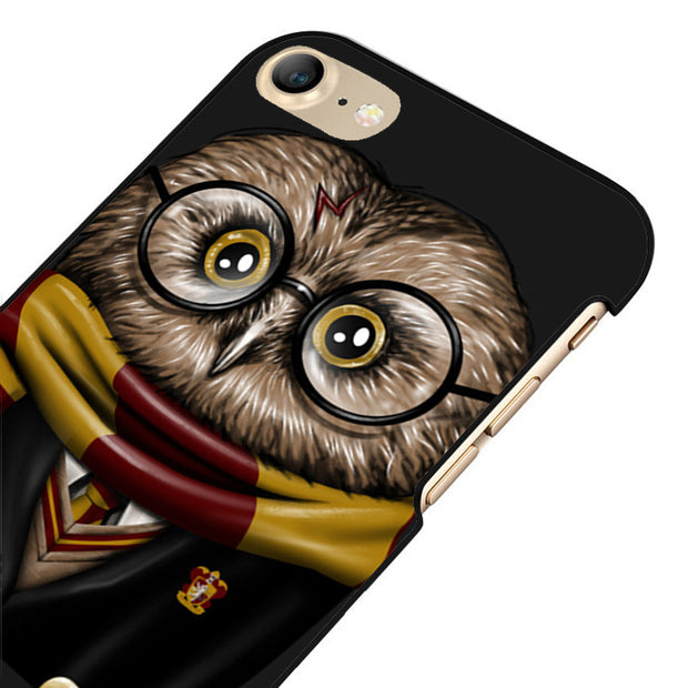 LvheCn 5 5S SE Phone Cover Cases For Iphone 6 6S 7 8 Plus X Back Skin Shell Harry Potter Owl Hedwig Back Print