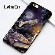 LvheCn 5 5S SE Phone Cover Cases For Iphone 6 6S 7 8 Plus X Back Skin Shell HARRY POTTER MAGIC