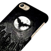 LvheCn 5 5S SE Phone Cover Cases For Iphone 6 6S 7 8 Plus X Back Skin Shell GOTHAM CITY BATMAN