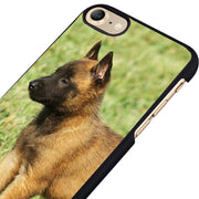 LvheCn Phone Case Cover Fit For IPhone 4 4s 5 5s 5c SE 6 6s 7 8 Plus X Ipod Touch 4 5 6 Dog Belgian Malinois Puppies