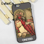 LvheCn Phone Case Cover For IPhone 4 4s 5 5s 5c SE 6 6s 7 8 Plus X Ipod Touch 4 5 6 Deadpool Funny Unicorn Marvel Chimi Changa