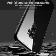 Magnetic Adsorption Phone Case For Samsung Galaxy S8 S9 Plus S7 Note 8 Tempered Glass Back Cover Metal Cases For IPhone Xs Max