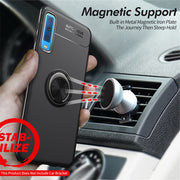 Magnetic Car Holder Case For Samsung Note 9 8 S9 S8 S7 Edge J2 Core J3 J5 J7 A6 J4 J6 Plus J8 A7 2018 2017 2016 Stand Silicone