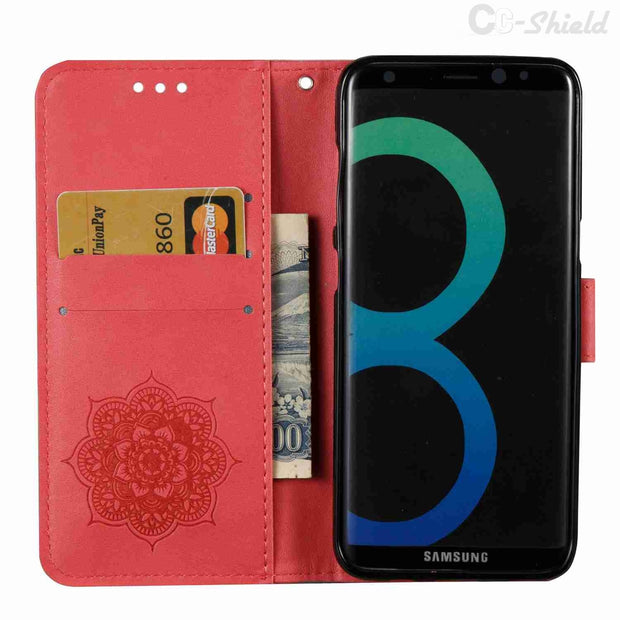 Magnetic Flip Case For Samsung Galaxy S8 S 8 Plus S8Plus SM G955S G955A G955F SM-G955S SM-G955A SM-G955F Phone Bag Leather Cover
