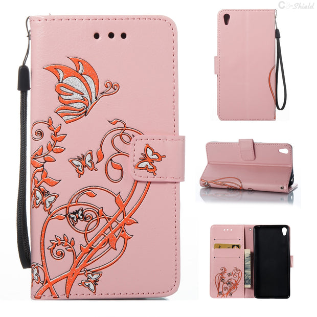 Magnetic Flip Case For Sony Xperia E5 LTE F 3311 3313 Card Slot Leather Cover With Stander For Sony Xperia E 5 F3311 F3313 Case