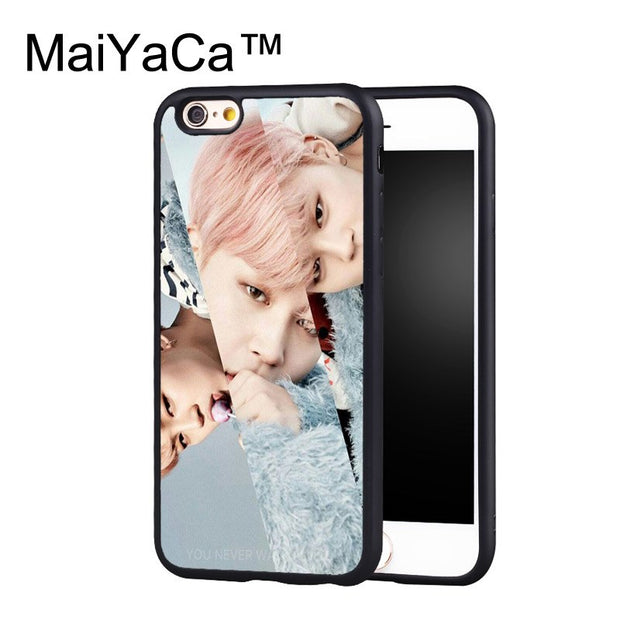 MaiYaCa BTS Jimin Case For IPhone 6 Plus Coque TPU Phone Back ...