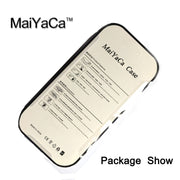 MaiYaCa Black Marble Initials Custom Printed Back Phone Case For IPhone X Soft TPU Case For IPhone X Cover Protective Shell