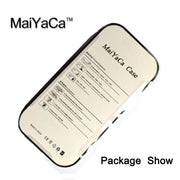 MaiYaCa Golf Ball Pattern Phone Cases For IPhone 7 Shell Hard Plastic Phone Case Soft Rubber Edge Back Cover