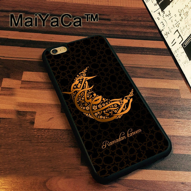 MaiYaCa Islamic Ramadan Kareem Newest Slim Soft TPU Phone Cases For Apple Iphone 7 Case 4.7'' Cover For Iphone 7 Back Bag
