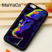 MaiYaCa The Notorious Conor McGregor Phone Cases For IPhone 6 6s Coque Case Black Rubber Soft TPU Drawing Phone Case Back Cover
