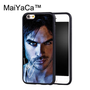 MaiYaCa The Vampire Diaries Ian Somerhalder Case For IPhone 6 Plus Coque TPU Phone Back Cover For IPhone 6S Plus Shell Cover