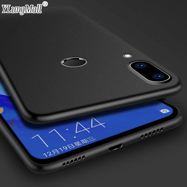 "Matte TPU Case For Xiaomi Mi Play Case 5.84"" Soft Silicone Rubber Protection Back Cover For Xiaomi Miplay Mi Play Phone Cases"