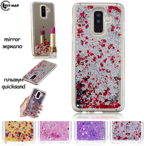 Mirror Star Case For Samsung Galaxy A9 Star Lite A6050 A6058 Silicone Phone Cover Coque Capa A 9 6050 SM-A6050 SM-A6058 Capa Bag