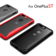 Oneplus 5T Case Bumper Tough Clear Phone Case For Oneplus 5T A5010 Heavy Duty Rubber Shockproof Cover For Oneplus 5T Dual SIM