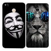 Originality Soft Ultra Thin Durable Lion Phone Case For Xiaomi Redmi 3 3S 4A 4X 4 4S Mi A1 Mi 5X Note 3 4 4X 5A Case Back Cover
