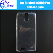 Oukitel K6000 Pro Cover 100% Official Original Anti-Knock Shockproof Protector Soft TPU Silicone Case Back Cover For K6000 Pro