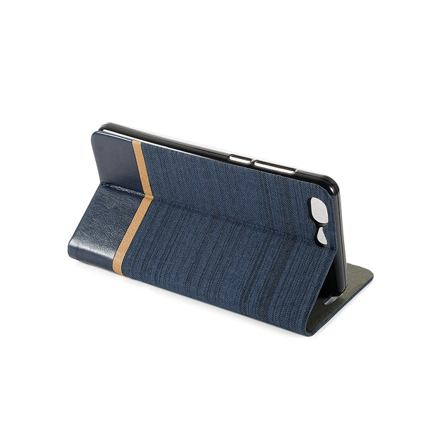PU Leather Phone Case For Leagoo T5 Flip Book Case Silicone Back Cover For Leagoo T5 T5C Business Card Slot Case