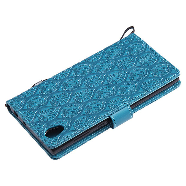 PU Leather Wallet Phone Case For Sony Xperia XA1 Plus E5 X M5 M4 M2 Z5 Compact Z4 Z3 Mini XZ1 XZ2 XA2 L2 L1 Flip Cover Capa B132