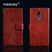 Pierves G0 Luxury Flip PU Leather Wallet Cover Phone Case For BQ BQ-5707G Next Music