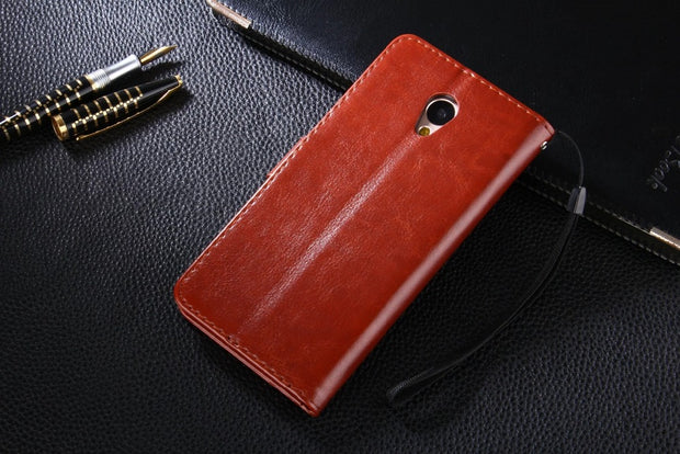 "Retro Leather Case For Meizu Meilan Note 5 Photo Wallet Flip Stand Cover Cases Holder Phone For Meizu Meilan Note 5 5.5"" Case"