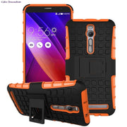 Rubber & Hybrid PC Cover Case For ASUS ZenFone 2 ZenFone2 ZE551ML ZE 551 ML 551ML ZE550ML Cover For Asus Z008D Z00AD Asus_Z008D