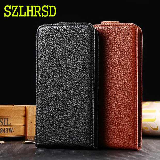 SZLHRSD Phone Case For Prestigio Grace P5 5515 Duo Cases Cover Fundas Mobile Phone Bag Flip Up And Down Case