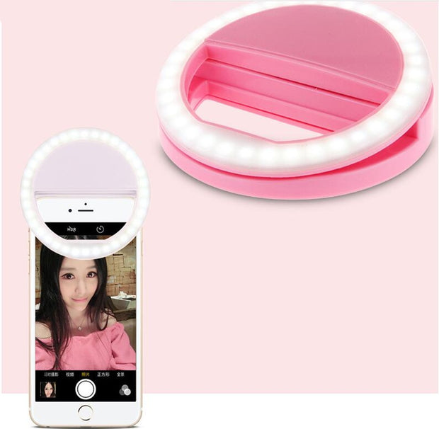 Selfie Ring Mirror Makeup Case For Sony Xperia Z5 Compact