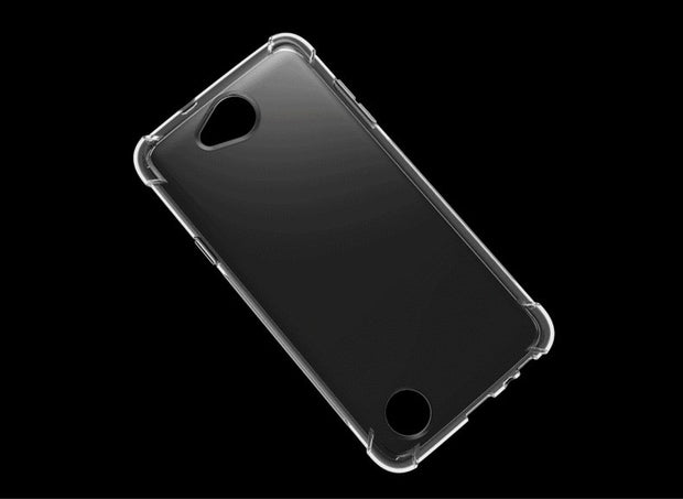 Shockproof Anti-skid TPU Gel Skin Soft Case Cover With Gasbag For LG X Power 2