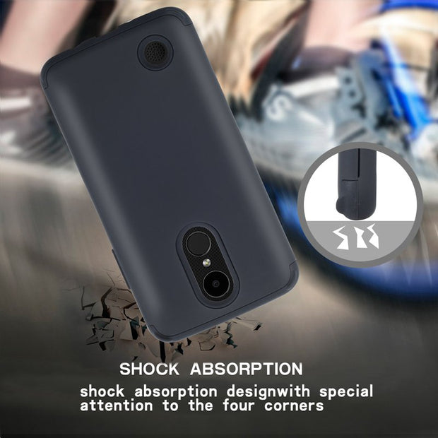 Shockproof Tough Hybrid Armor Drop Protection Case Cover For LG Aristo/Phoenix 3/K8 2017/LG K4 2017/Risio 2/Fortune
