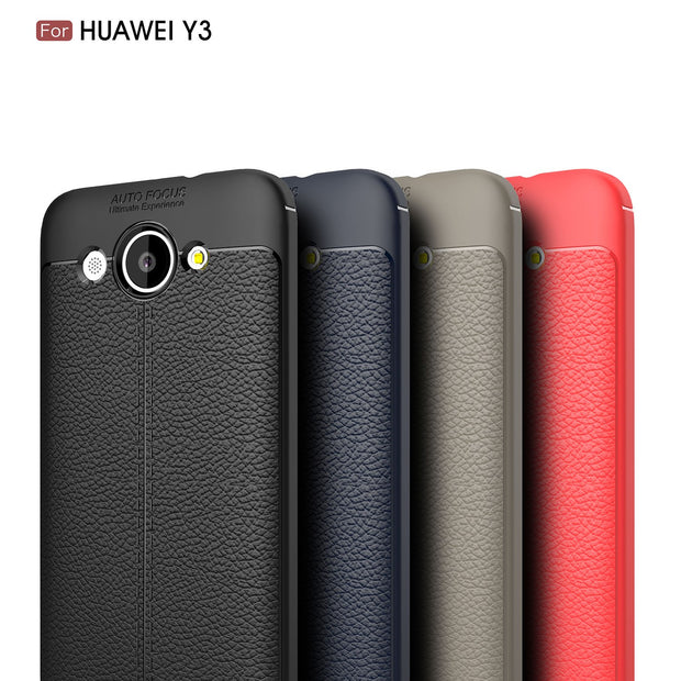 Silicone Case For Huawei Y3 2018 CAG-L22 CAG-LX2 Fitted Case Soft